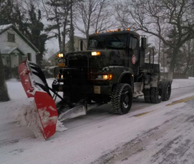 Highway Snow Plow - Blizzard Grayson