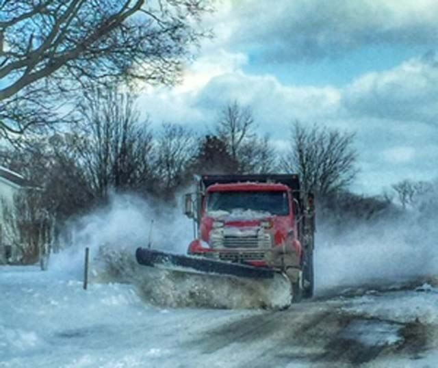 Highway Snow Plow - Storm Skylar